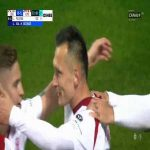 Legia Warszawa 0-[1] ŁKS Łódź - Łukasz Piątek 53' (Polish Ekstraklasa)