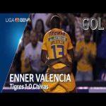 Tigres [1] - 0 Chivas (E. Valencia 52')