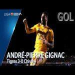 Tigres [3] - 0 Chivas (A. Gignac 72')