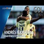 Querétaro 0 - [1] Club América (A. Ibargüen 27') | Golazo