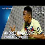 Querétaro 1 - [2] Club América (A. Ibargüen 74')