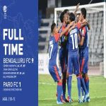 Bengaluru FC score their biggest win 9-1 against Paro FC in AFC Cup