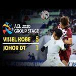 Vissel Kobe 5-1 Johor Darul Takzim | Highlgihts Champions League 2020