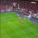 Benfica 0-1 Braga - Joao Palhinha 45'+1'