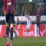 Bologna 0-3 Genoa - Domenico Criscito penalty 90'
