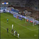 Exposito Missed Penalty (Pogón Szczecin vs Slask Wroclaw)