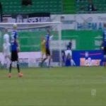Furth 0-1 Bielefeld - Cedric Brunner 13'
