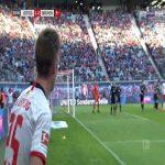 RB Leipzig 2-0 Bremen - Patrik Schick 39'