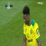 Tettey hits the post vs Liverpool 72'