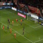 Twente 1-0 AZ Alkmaar - Giorgi Aburjania 25'