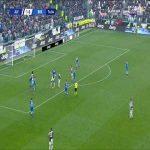Juventus 2-0 Brescia - Cuadrado 75'