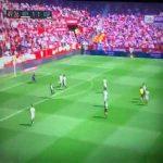 Sevilla 1-[2] Espnayol - Wu Lei 50'