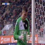 Zagłębie Lubin 0-[1] Wisła Kraków, Vukan Savićević (nice goal!)