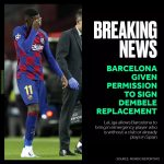 Breaking: Barcelona Can sign striker replacement