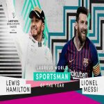 With 🏆🏆🏆🏆🏆🏆 World Championships and Ballon d'Ors between them, Lewis Hamilton and Lionel Messi share the #Laureus20 World Sportsman of the Year award - a moment of sporting history!