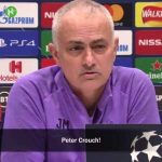 """Jose Mourinho jokes he may be forced to turn to a familiar face at Tottenham! """"I was not aware of the possibility, but, Peter Crouch!"""""""