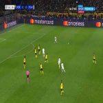 Layvin Kurzawa (PSG) run vs. Borussia Dortmund (62')