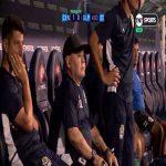 Maradona doing coke on the bench