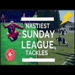 Worst Sunday League tackles / compilation