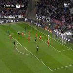 Frankfurt 3-0 RB Salzburg - Daichi Kamada 53'