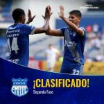Emelec have advanced to the Second Stage of the Copa Sudamericana