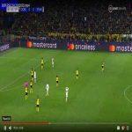 Kurzawa's incredible run finished with a ridiculous pass vs Dortmund