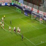 Zvonimir Kožulj (Pogoń Szczecin) PK miss vs. ŁKS Łódź (90+3', Polish Ekstraklasa)