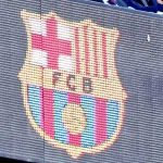 Galactic level trollery, Someone has placed a Real Madrid logo on the Camp Nou LED display panels