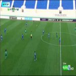 Incredible open-goal miss by Iraq U-20 player Hussein Abdullah against Kuwait