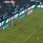 Schalke 0-1 RB Leipzig - Marcel Sabitzer 1' (Great goal)