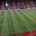 Southampton 1-0 Aston Villa - Shane Long 8'