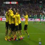 Werder Bremen 0-1 Dortmund - Dan-Axel Zagadou 52'