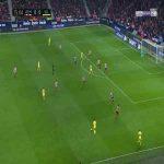 Atlético Madrid 0-1 Villarreal - Paco Alcacer 16'