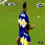 Boca Juniors [1]-0 Godoy Cruz - Carlos Tévez 19'