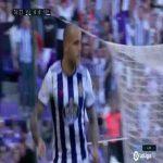 Real Valladolid 1-0 Espanyol - Sandro Ramirez 77'