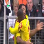 Troy Deeney (Watford) disallowed goal vs. Manchester United (52')