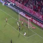Estudiantes de La Plata 0-[1] River Plate - Rafael Santos Borré 21'
