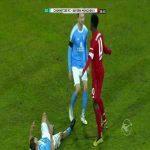 Chemnitzer FC - Bayern München II: Wriedt red card 39'