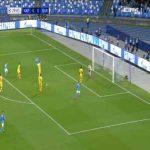 Napoli 1-0 Barcelona - Dries Mertens 30'
