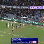 QPR 1-[1] Derby - Martyn Waghorn 43'