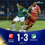 Deportivo Cali have advanced to the Second Stage of the Copa Sudamericana
