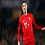 Lewandowski has been ruled out for four weeks after suffering a knee injury against Chelsea yesterday.