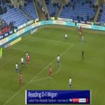 Reading 0-1 Wigan - Kieffer Moore back-heel 23'