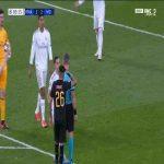 Sergio Ramos red card vs Manchester City 86'