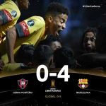 Barcelona Sporting Club (Ecuador) have advanced to the Group Stage of the Copa Libertadores