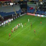 Basaksehir 2-0 Sporting [3-3 on agg.] - Danijel Aleksic free-kick 45'
