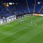 Espanyol [3]-2 Wolves [3-6 on agg.] - Jonathan Calleri 90'+1'