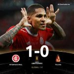 Internacional have advanced to the Group Stage of the Copa Libertadores