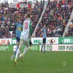 Augsburg 1-[3] Borussia Mönchengladbach - L. Stindl 79'