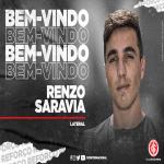 FC Porto loans Renzo Saravia to Internacional Porto Alegre